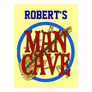 La cueva del hombre añade la muestra conocida postal
