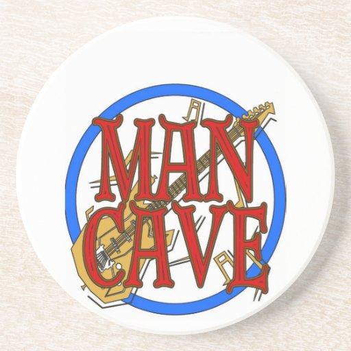 La cueva del hombre, NOMBRE añade el texto Posavasos Diseño