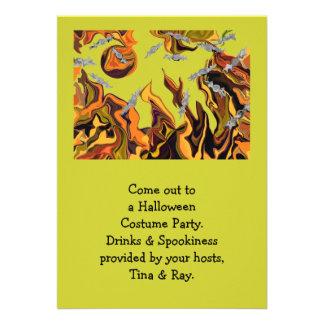 la cueva del palo de Halloween invita
