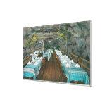 La cueva del pescador, la gruta de Brenstein Lona Envuelta Para Galerias