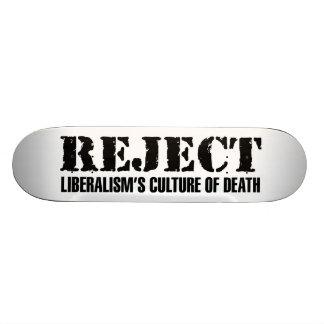 La cultura del liberalismo del rechazo de la patin personalizado