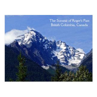 La cumbre de la postal del paso de Rogelio