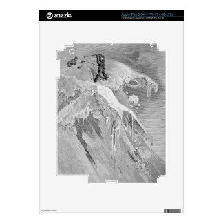 La cumbre del paso de Moming en 1864, 'de la A Pegatina Skin Para iPad 3