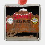 La cumbre máxima de Pike, Colorado Ornamentos De Reyes Magos