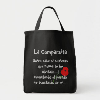 La Cumparsita Tango Lyrics Tote Bag