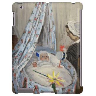 La cuna, Camilo con el hijo Jean del artista