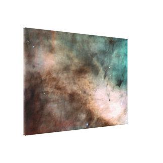 La cuna de la nebulosa de Omega de la formación Impresion En Lona