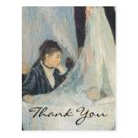 La cuna de Morisot Postal