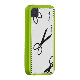 La cupón ahorra verde del dinero Case-Mate iPhone 4 carcasa