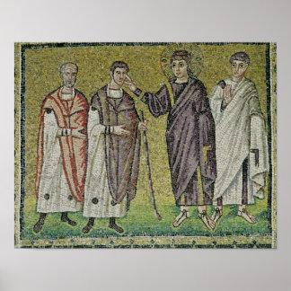 La cura de dos Blindmen de Jericó Póster