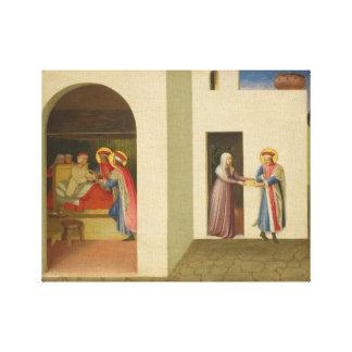 La cura de Palladia Lienzo Envuelto Para Galerias