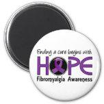 La curación comienza con Fibromyalgia de la espera Iman De Frigorífico