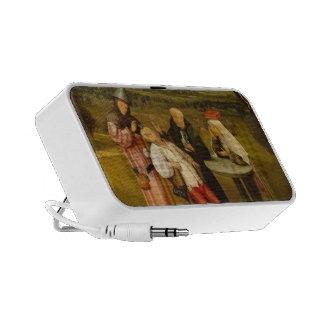 La curación de la locura de Hieronymus Bosch Mini Altavoces