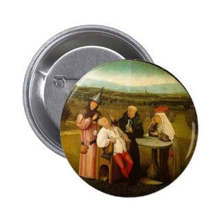 La curación de la locura de Hieronymus Bosch Pin