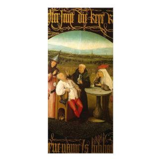 La curación de la locura de Hieronymus Bosch Plantillas De Lonas
