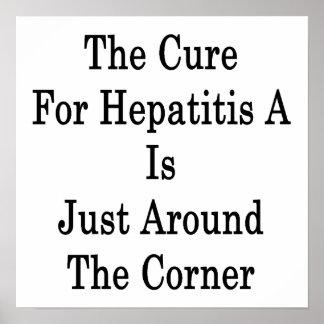 La curación para la hepatitis A está apenas alrede Poster