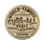 La curación personalizada vintage divertido toda a frascos de caramelos