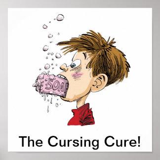 ¡La curación que maldice! Posters