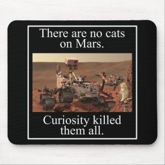 La curiosidad Rover de la NASA y ningunos gatos en Alfombrilla De Ratón