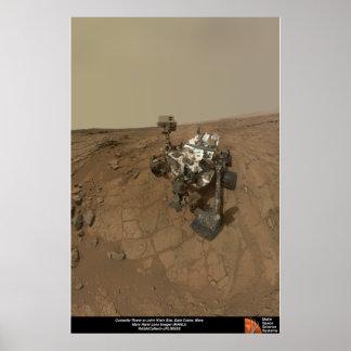 La curiosidad Rover en Juan Klein localiza Impresiones