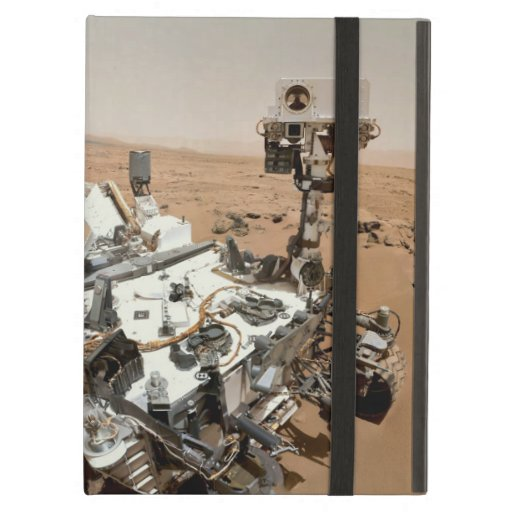La curiosidad Rover encajona para el aire del iPad