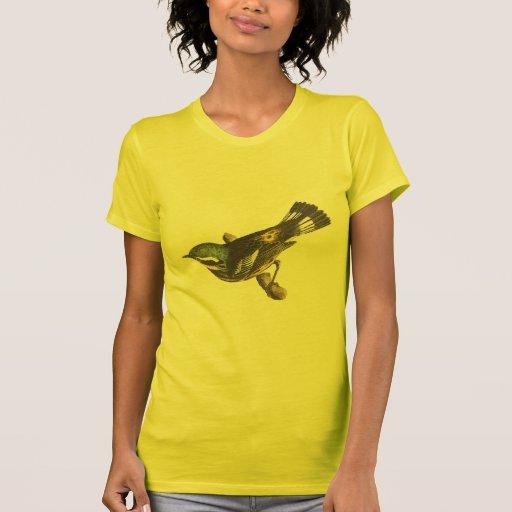 La curruca manchada(maculosa de Sylvicola) Camisetas