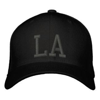 LA Custom Cap - Black and Grey Baseball Cap