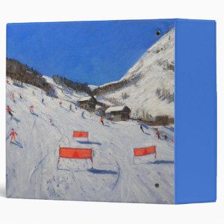 La Daille Val-d'Isere 2009 3 Ring Binder