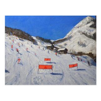 La Daille Val-d'Isere 2009 Postcard
