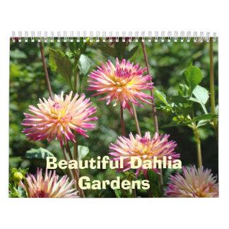 La dalia hermosa cultiva un huerto las fotos flora