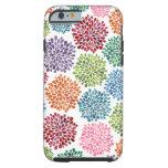 La dalia hermosa florece el iPhone 6