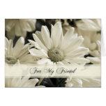 La dama de honor del amigo de la flor blanca le ag felicitacion