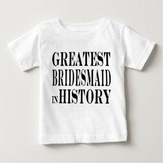 La dama de honor más grande de las mejores damas t-shirts