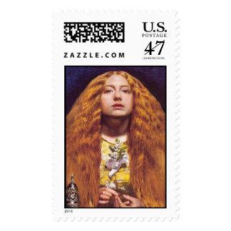 La dama de honor - sello