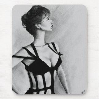 La dama Original Portrait Helen Mirren Mousepad Alfombrilla De Ratón