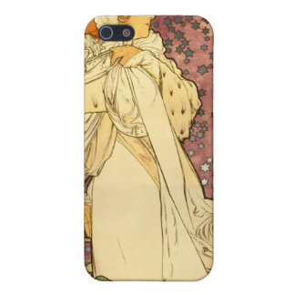 """La Dame Aux Camelias Alfons Mucha 1895 Case For iPhone SE/5/5s"