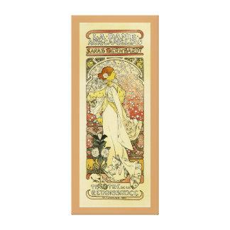 La Dame aux Camelias Canvas Print