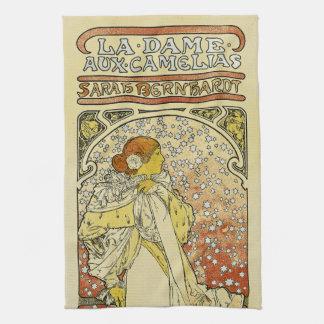 La Dame aux Camelias Hand Towel