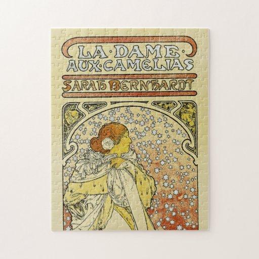 La Dame aux Camelias Jigsaw Puzzles