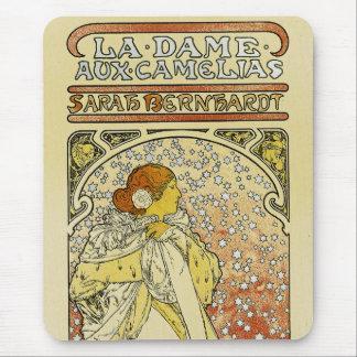 La Dame aux Camelias Mouse Pad