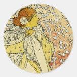La Dame aux Camelias Sticker