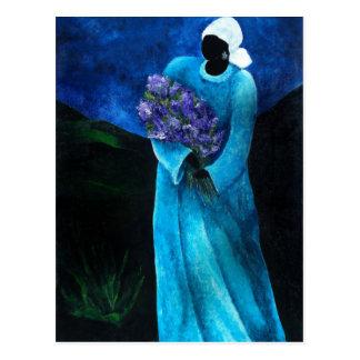 La Dame en Bleu 2009 Postcard