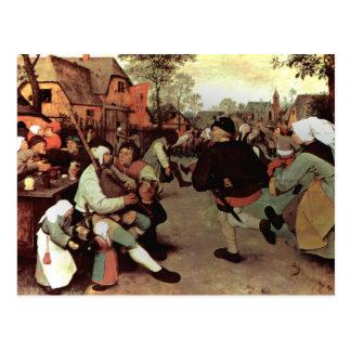 La danza campesina - 1568 tarjetas postales