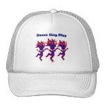La danza canta el juego gorras de camionero