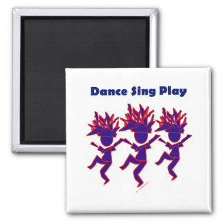 La danza canta el juego imán