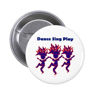 La danza canta el juego pin