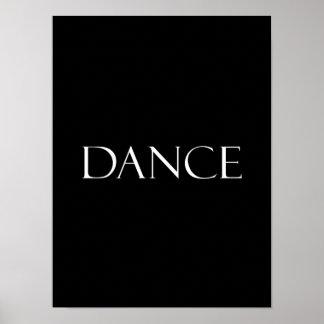 La danza cita cita inspirada del baile poster