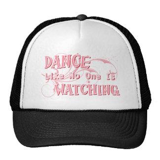 La danza como nadie está mirando gorros
