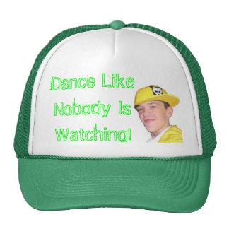 ¡la danza como nadie está mirando! gorras