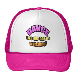 La danza como nadie está mirando gorras